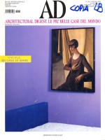 "AD Architectural Digest, ""Bagliori sul Moderno"" di Ferrari Clerici Dedy"